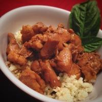 Teriyaki Chicken with Cauliflower Rice